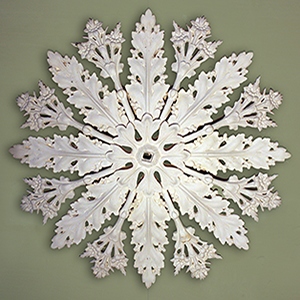 anglesea plaster moulded centrepiece